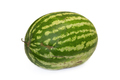 Big Ripe Watermelon On A White Background. - PhotoDune Item for Sale