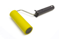 Yellow Rubber Paint Roller On A White Background. - PhotoDune Item for Sale