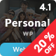 Personal - Best Blog, CV and Video WordPress Theme - ThemeForest Item for Sale