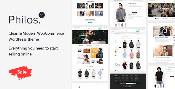 Philos - Responsive WooCommerce WordPress Theme