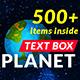 Text Box Planet v1.0