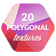 20 Low-Poly Polygonal Background Textures #5 - GraphicRiver Item for Sale