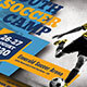 Youth Soccer Camp Postcard - GraphicRiver Item for Sale