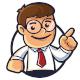 Business Man Mascot Logo - GraphicRiver Item for Sale