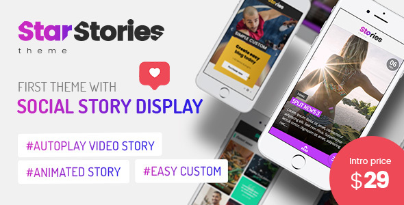 StarStories - Creative Magazine & Blog theme