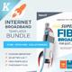 Internet Broadband Templates Bundle - GraphicRiver Item for Sale