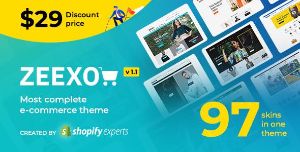 Zeexo - Multipurpose Shopify Theme