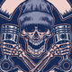 Skull Holding Pistons - GraphicRiver Item for Sale