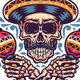 Mexican Skull - GraphicRiver Item for Sale