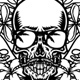 Set of Skull and Tropical Flowers - GraphicRiver Item for Sale