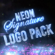 Neon Signature Reveal Pack - VideoHive Item for Sale
