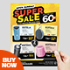 Super Sale Product Promotion Flyer - GraphicRiver Item for Sale