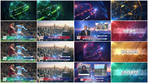 4K News Broadcast Pack