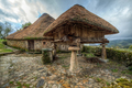 Traditional celtic dwellings of the Galician mountain - PhotoDune Item for Sale