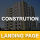 Construction - Multipurpose Responsive HTML Landing Page - ThemeForest Item for Sale