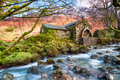 An Old Mill at Borrowdale in the Lake District - PhotoDune Item for Sale