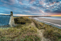 A tiny chapel in the sand dunes on Llandanwg beach - PhotoDune Item for Sale