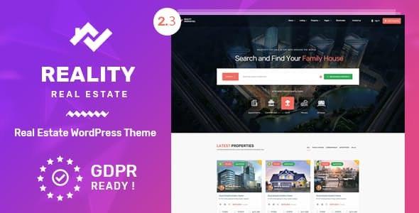 Reality | Estate Multipurpose WordPress Theme
