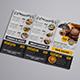 Restaurant Menu Tri Fold Brochure - GraphicRiver Item for Sale