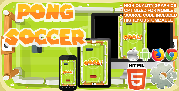 Pong Soccer ( HTML5 + CAPX ) Download