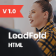 LeadFold - Lead Generation HTML Landing Page Template - ThemeForest Item for Sale