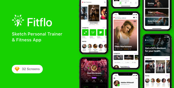 Fitflo - Sketch Personal Trainer & Fitness App