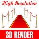 Red Carpet Entrance - GraphicRiver Item for Sale