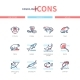 Animals Collection - Line Design Style Icons Set - GraphicRiver Item for Sale
