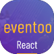 Eventoo - Event React Template - ThemeForest Item for Sale