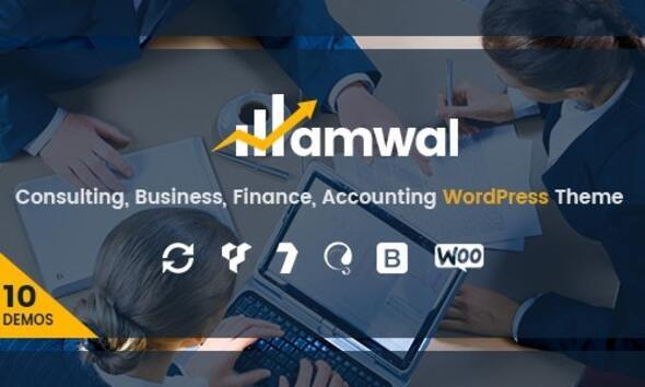 Amwal | Consulting Finance WordPress Theme