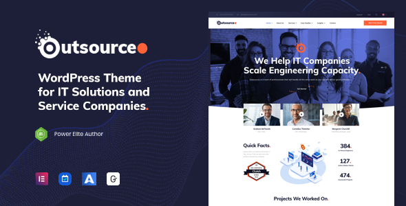 Outsourceo - IT Solutions WordPress