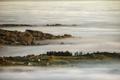 Mornig Fog covers the Valleys between hills - PhotoDune Item for Sale