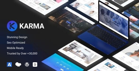 Karma - Responsive WordPress