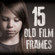 15 Old Film Frame Overlay Textures - GraphicRiver Item for Sale