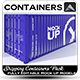 Container 3D Mock-Up - 3DOcean Item for Sale