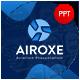 Airoxe Aviation Presentation Template - GraphicRiver Item for Sale