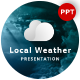 Local Weather Forecast Presentation Template - GraphicRiver Item for Sale