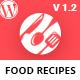 Ranna - Food & Recipe WordPress Theme - ThemeForest Item for Sale