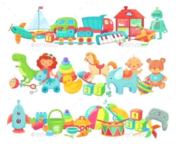 Cartoon Toys Dividers
