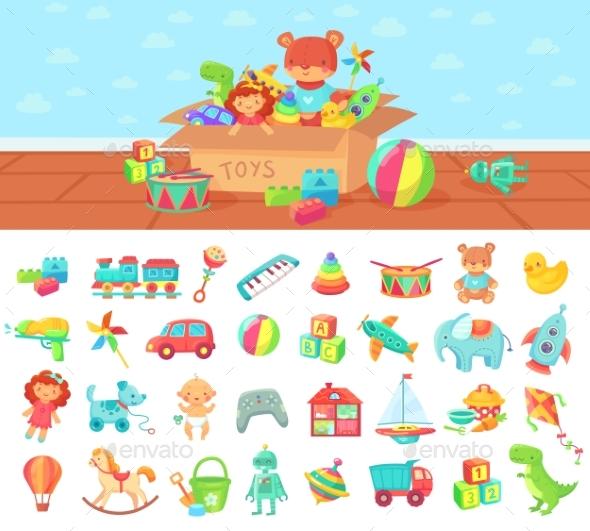 Cartoon Toys