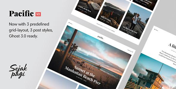 Pacific: Big Bold Photo-Based Theme