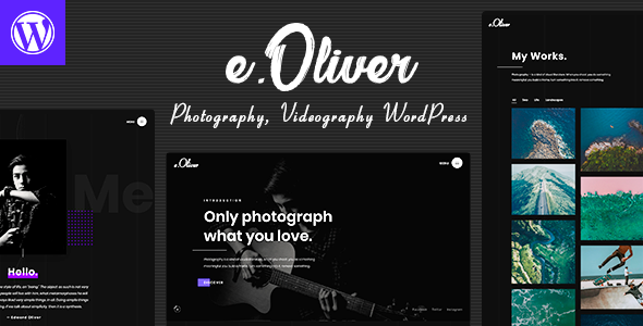 Oliver - Photography & Videography Theme