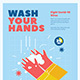 Washing Hand Campaign Poster - GraphicRiver Item for Sale