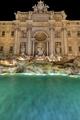 The illuminated Fontana di Trevi - PhotoDune Item for Sale