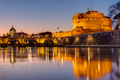 The Castel Sant Angelo and the St. Peter's Basilica - PhotoDune Item for Sale