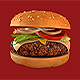 Burger Isolated - Hamburger 3D - GraphicRiver Item for Sale