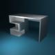 Minimalist Desk - 3DOcean Item for Sale