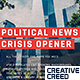 Political News Slideshow / Digital Corporate Opener / Technology Business / Economy Crisis - VideoHive Item for Sale