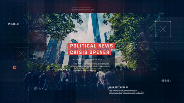 Political News Slideshow / Digital Corporate Opener / Technology Business / Economy Crisis