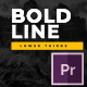 Bold Line Lower Thirds - VideoHive Item for Sale